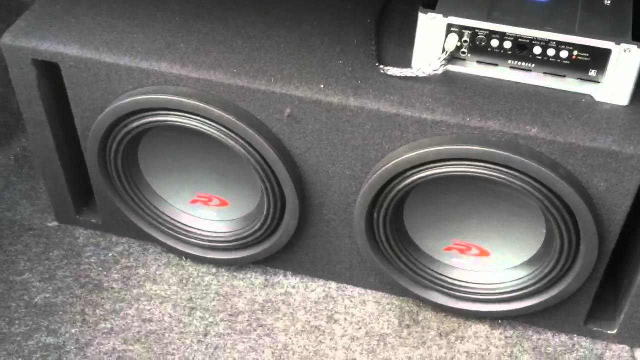 2 10 Inch Alpine Type R U0026 39 S Super Bass