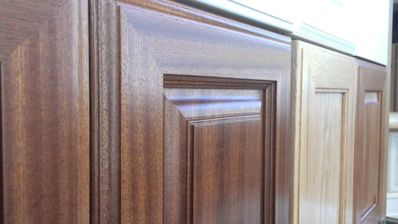 Barker Cabinets Satin Sheen Conversion Varnish Finish   YouTube
