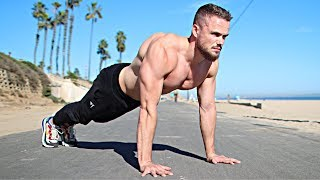 Build BIGGER CHEST with Push Ups (100 REPS)