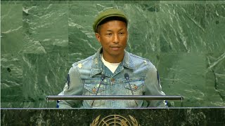 Pharrell Williams - International Day of Happiness