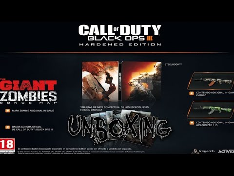 Unboxing: Call Of Duty: Black Ops III [Hardened Edition] [German/Deutsch]