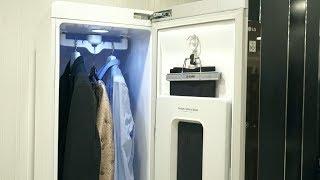 Паровой шкаф LG Styler. Фрагмент теста