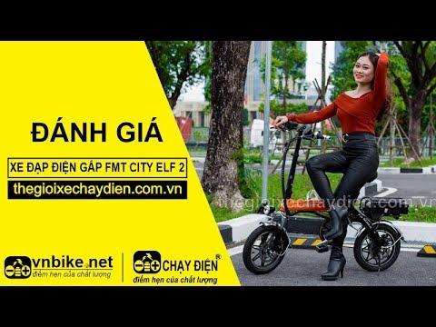 Đánh giá xe đạp điện gấp FMT CITY ELF 2