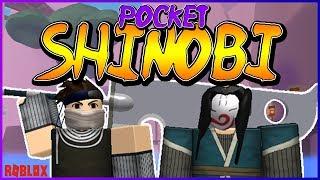 NEW NARUTO ROBLOX GAME | POCKET SHINOBI | iBeMaine