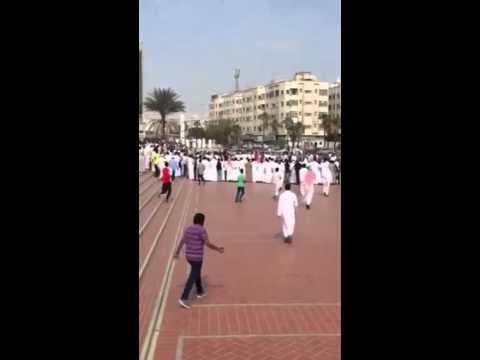 Crowd Gathers to Watch Raif Badawi's Public Flogging