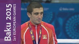 Albert Selimov Wins The Men's Lightweight (60kg) | Boxing | Baku 2015 European Games
