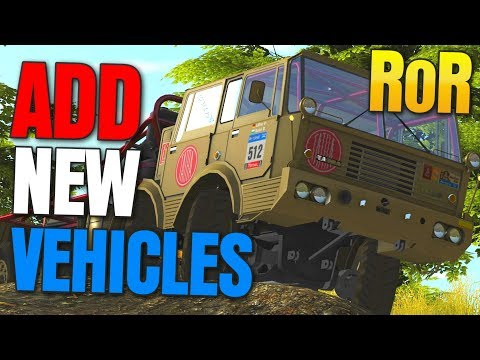 How To Add New Cars, Maps, Planes To Rigs Of Rods