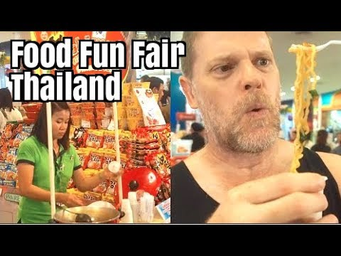 Bangkok Food Fun Fair - What We Ate in Thailand