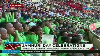 DP William Ruto arrives for Jamhuri day celebrations