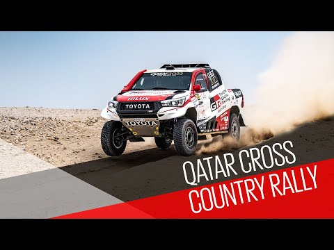 Qatar Cross-Country Rally Stage 2 Highlights