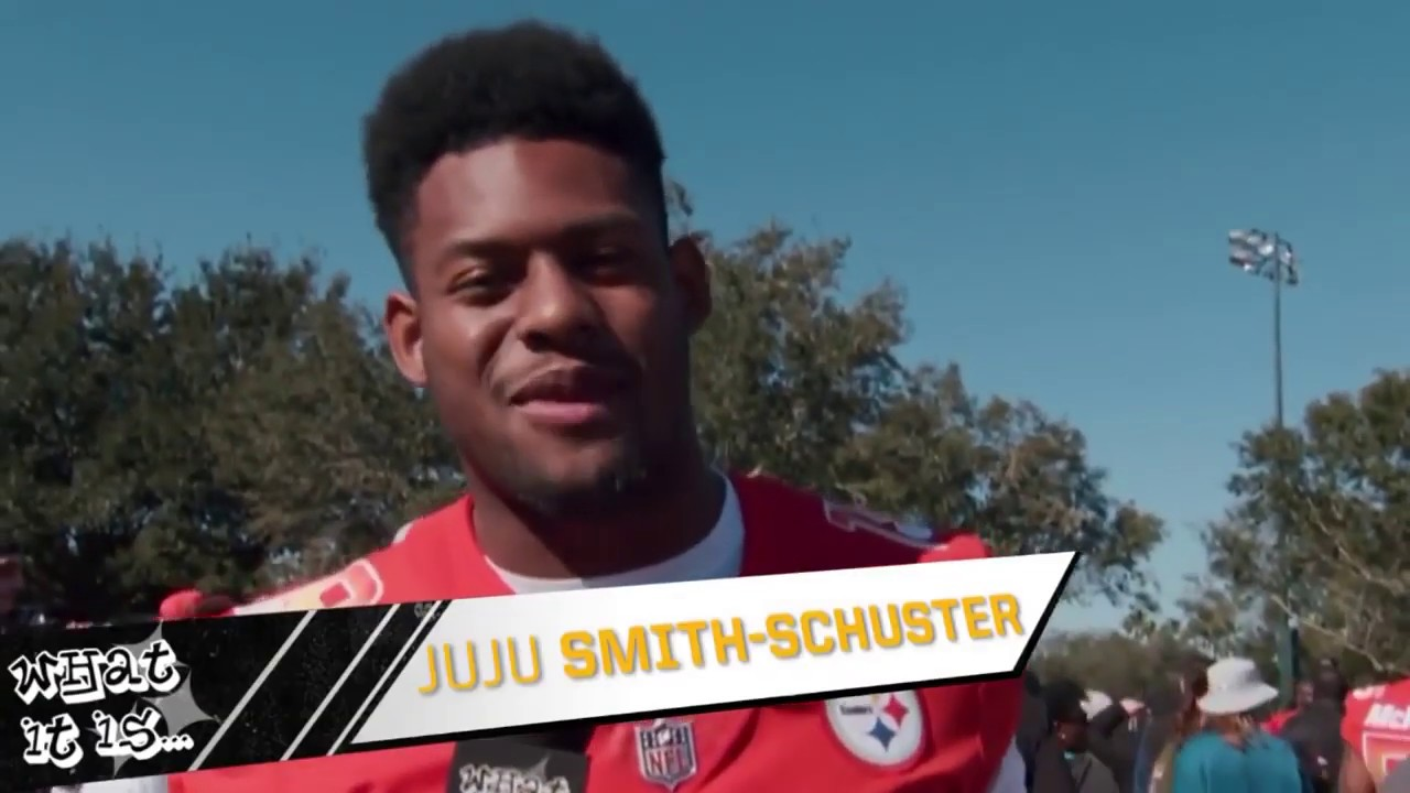 0174c04f8e4 JuJu Interviews Pro Bowl Teammates!! JuJu Smith-Schuster