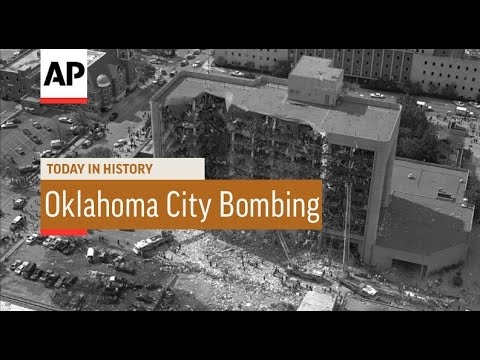 USA: Oklahoma City Bombing Rescue - 1995  | Today in History | 19 Apr 16