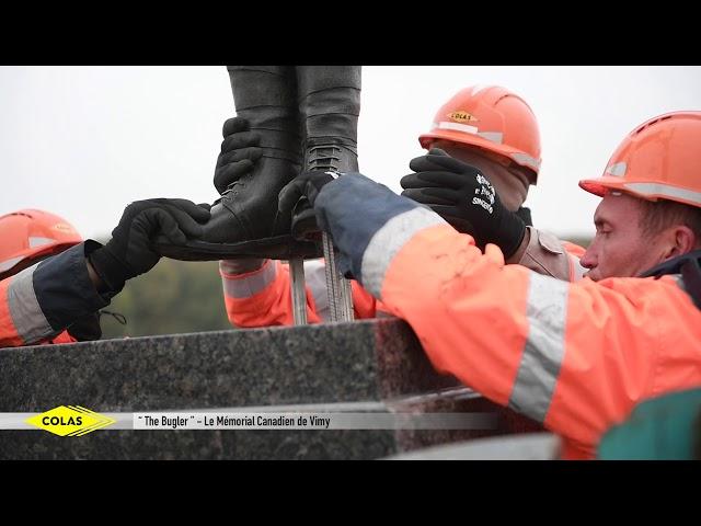 Le Parc du Centenaire de Vimy sort de terre