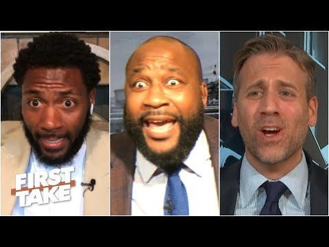 First Take gets heated over the top 5 best playoff QBs of the last decade