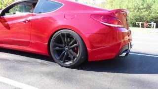 300whp BEST SOUNDING Turbo Genesis Coupe