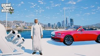 THE BILLIONAIRE LIFESTYLE OF DUBAI!!GTA 5 Prince of DUBAI Mod