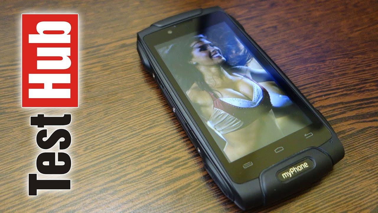 277372fff0b0 myPhone Hammer AXE LTE - Ekstremalny test i pełna prezentacja - YouTube