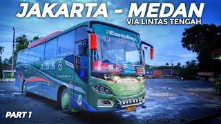Download lagu 3 Hari 3 Malam Naik Bus ALS 355 Jakarta - Medan Via Lintas Tengah Sumatera (Lintas Dua Danau) Part 1