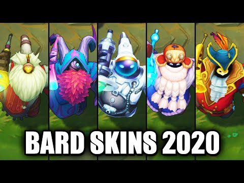 All Bard Skins Spotlight 2020 (League of Legends)