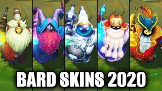 All Bard Skins Spotlight 2020 (League of Legends)