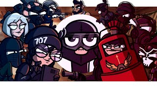 SIEGE TALES - ALL EPISODES vol.3 (Rainbow Six Siege Cartoon)