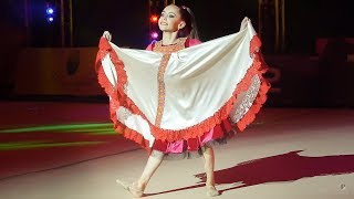 Гимнастка Дарья Меркушева  танцует Калинку Малинку Турнир Olympic Stars 2018