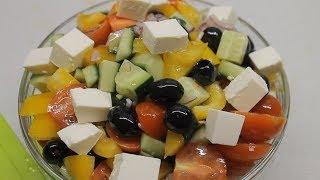 Греческий салат. Свежесть и Красота!