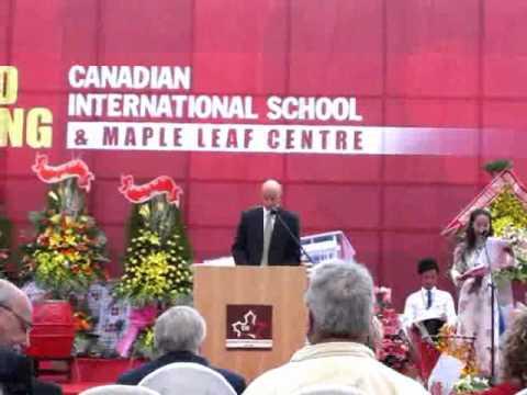 2010 Grand Opening of Canadian International School - part 1