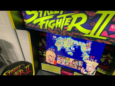 ARCADE1UP CAPCOM LEGACY ACCESSORIES - NEW GAME ROOM PICKUPS! from The 3rd Floor Arcade with Jason
