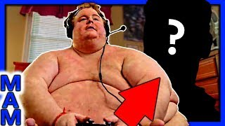 FAT MAN PLAYS FORTNITE TO BECOME SKINNY? (SKINNY FORTNITE ADDICTION)
