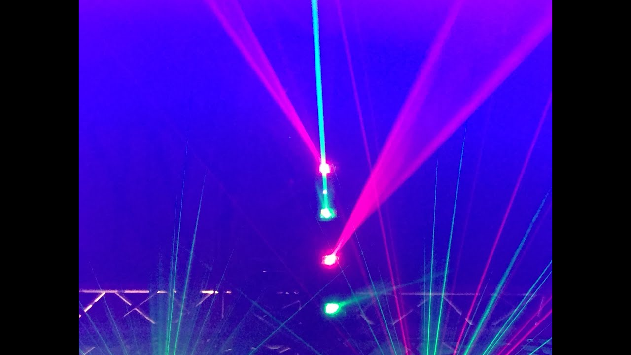 light pro of arena chauvet returns bpm time lighting to below shows
