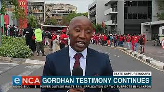 'I am not accountable to bullies': Gordhan responds to EFF protest