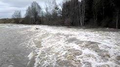 Loimaa, tulvaa Alastarolla 17.4.2013