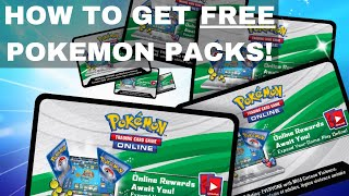 How to Get Free Pokemon Code Cards & Packs in 2021 for PTCGO