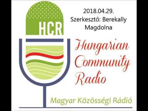 Magyar Kozossegi Radio Adelaide 20180429 Berekally Magdolna