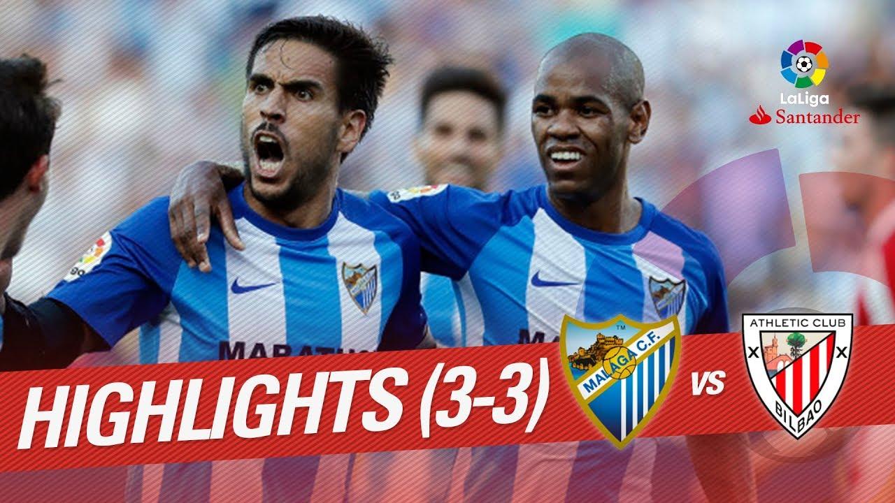 Malaga Vs Athletic Club