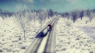 Euro Truck Simulator 2 Karlı Kış Modu