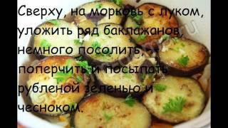 Рецепты овощной закуски:Соте из бакложанов