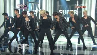 120713 Super Junior - Sexy, Free & Single LIVE (COMEBACK STAGE) @ KBS Music Bank
