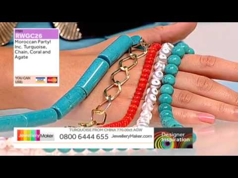 How to make genuine gemstone jewellery - JM DI 30/05/14