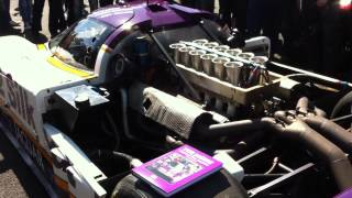Jaguar XJR-9 start up & rev