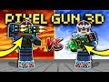 ALL EXOSKELETONS VS. CYBER SANTA SET!! | Pixel Gun 3D [New Update]