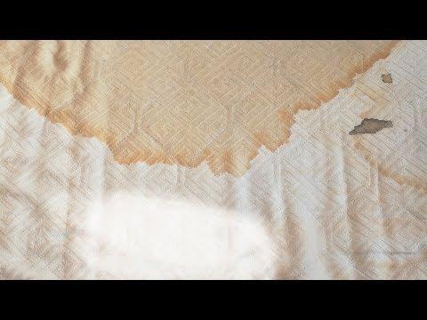 Как отстирать матрас от мочи в домашних условиях