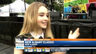 Sabrina Carpenter Interview LIVE on Fox 28