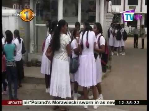 News1st: G.C.E. Ordinary Level examinations commence