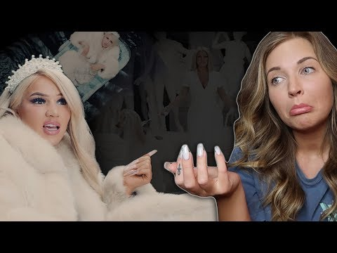 AMERICAN REACTS to SHIRIN DAVID - ICE [Official Video]