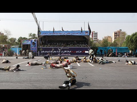 IRNA: 24 people killed after gunmen opened fire at parade