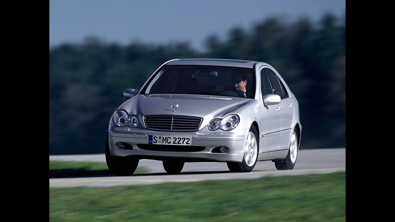 Подержанные Авто Mercedes Benz C200 Kompressor W203  YouTube