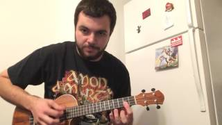 Amon Amarth - Twilight Of The Thunder God (Ukulele Cover)