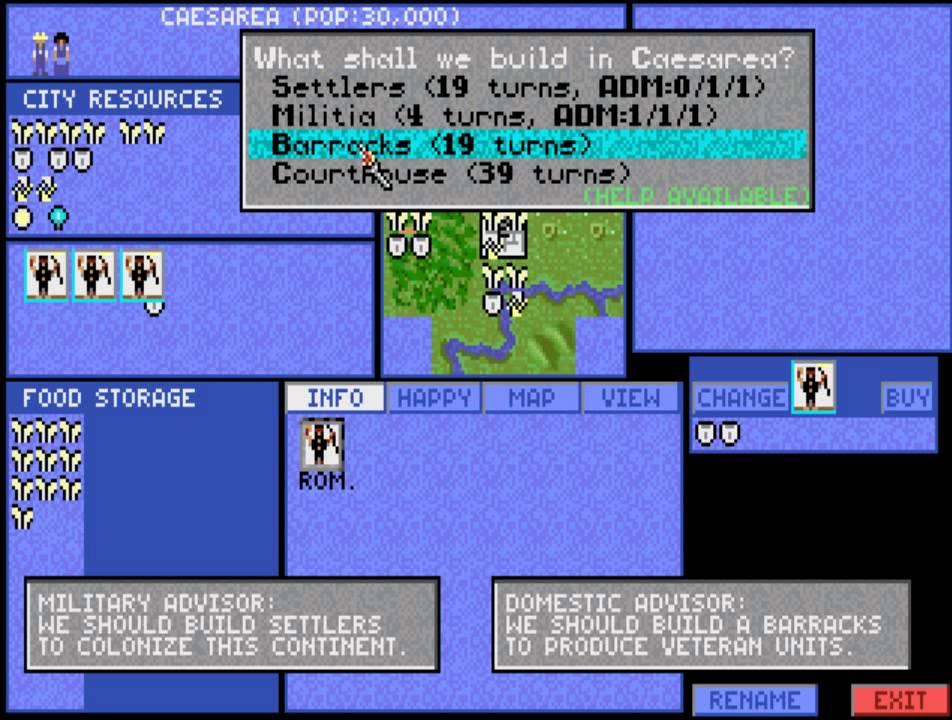Civilization 1 (the original dos game) - YouTube